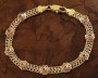 18K Gold filled Women's Bracelet 8in