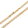 18k Yellow Gold filled 19.6in Men's Chain