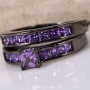 4ct Natural Amethyst 925 Sterling Silver Wedding ring set