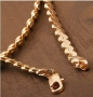 Classy 18K Yellow Gold filled Women's Princess Chain 20in