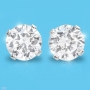 Cubic Zirconia in Sterling Silver Earrings