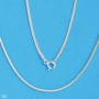 Fine Quality Sterling Silver Chain 20in