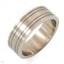 Men' Stainless Steel Band Size 13