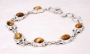 Women's  7 Tiger Eye Bracelet 8in